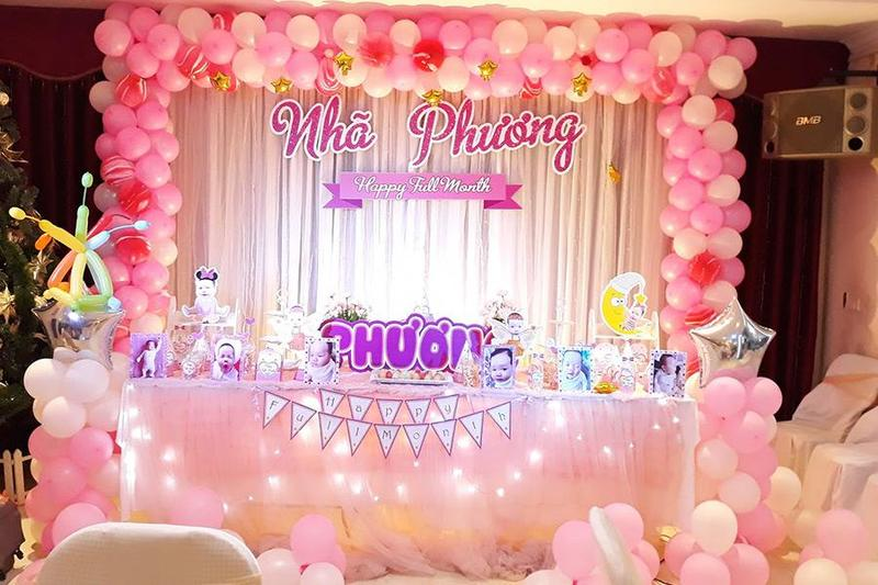 Chia sẻ 7 lời khuyên để tổ chức tiệc đầy tháng cho bé