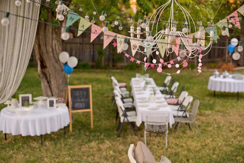 Những lưu ý khi đặt tiệc cưới ngoài trời