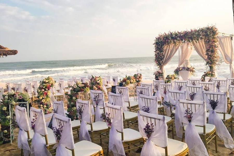 Tổ chức tiệc cưới lãng mạn với ý tưởng siêu độc đáo khi lựa chọn đặt tiệc cưới tại nhà quận 5